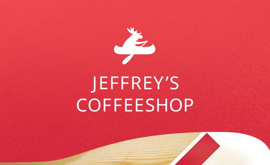 Айдентика «Jeffrey's Coffeeshop»